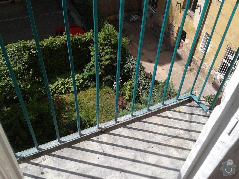 Hydroizolace balkónu: balkon