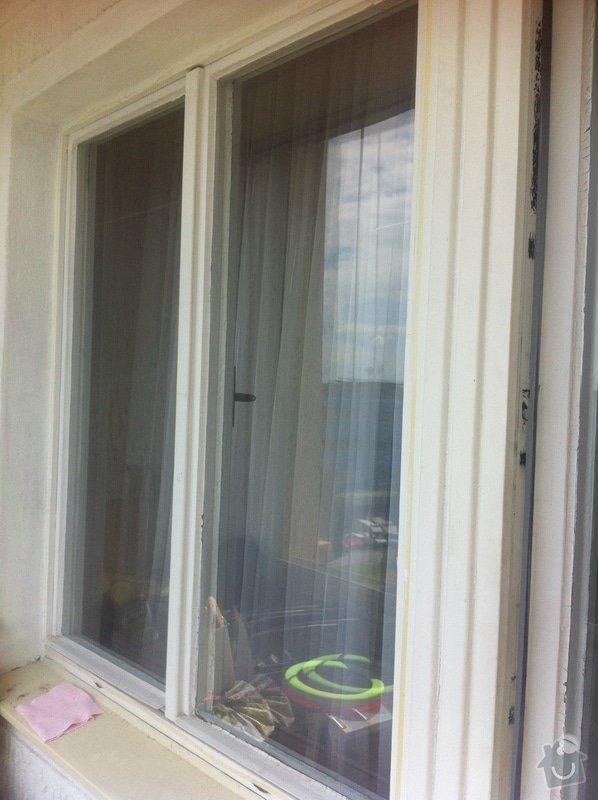 Síťky do oken včetně instalace: okno