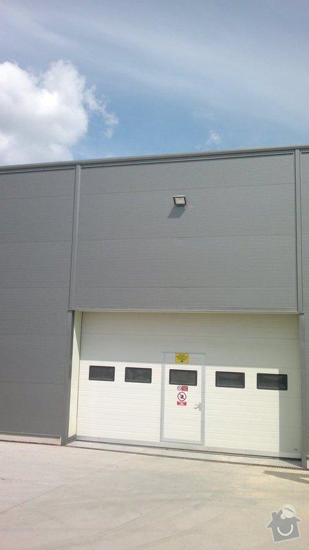 Osvětlení skladovací haly včetně elektroinstalace: 2014-06-02-088