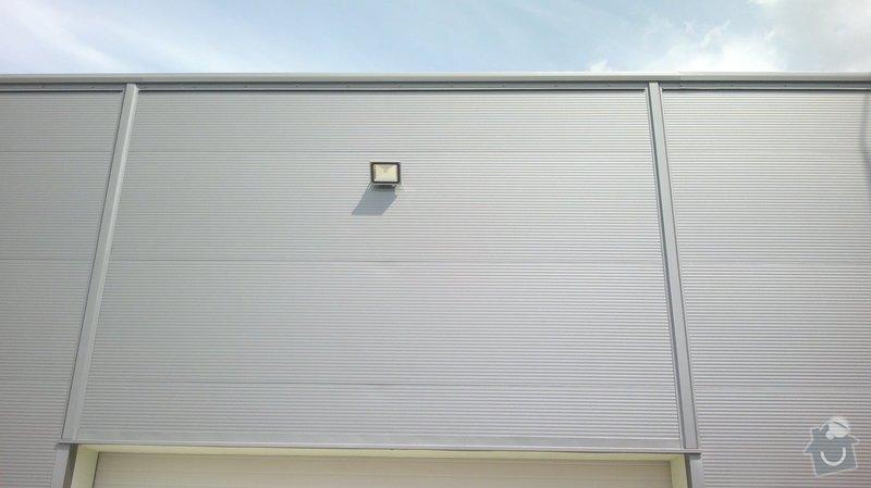 Osvětlení skladovací haly včetně elektroinstalace: 2014-06-02-089
