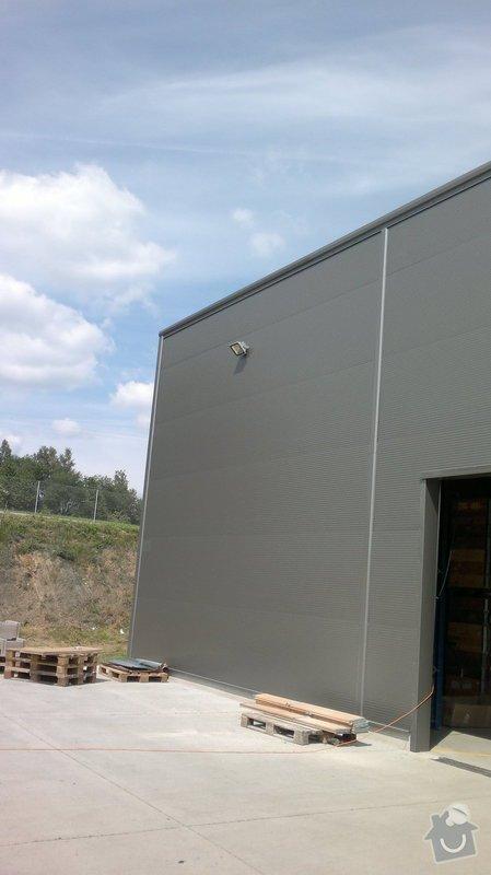 Osvětlení skladovací haly včetně elektroinstalace: 2014-06-02-092