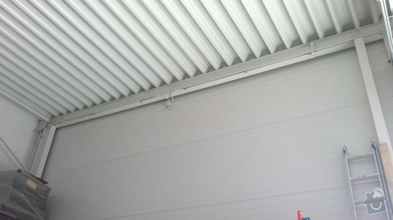 Osvětlení skladovací haly včetně elektroinstalace: 2014-06-02-102