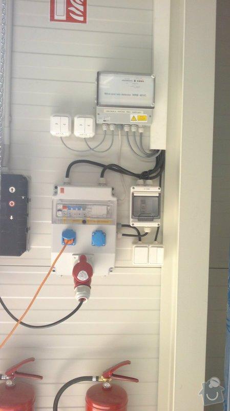 Osvětlení skladovací haly včetně elektroinstalace: 2014-06-02-107