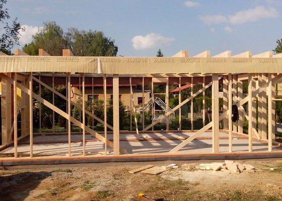 Tesařské práce - dřevostavba