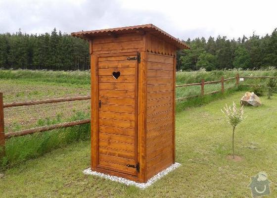 Zahradní domek + kadibudka