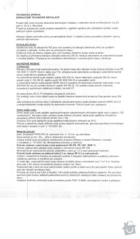 Topenářské a/nebo ZTI práce rekonstrukce RD: Technicka_zpravy_ZTI_001