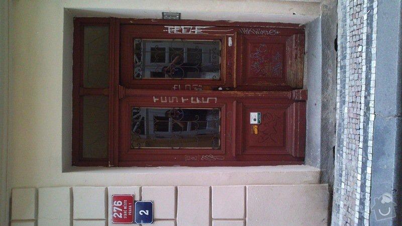 Renovace historických domovních vstupních dveří: DSC_0035