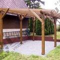 Pergola 4krat 5m vyska cca 220cm stecha vlnity polykarbonat z pergola 250x420 4  pr 650