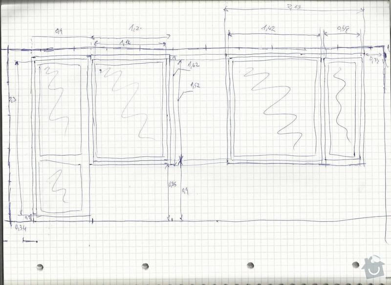 Rekonstrukce bytového jádra a výměna oken: Okna