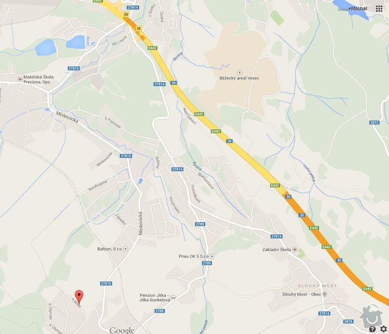 Zemní práce traktorbagrem: Mapa_na_stavbu