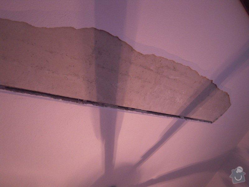 Oprava stropní omítky a malířské práce (1 pokoj v panelovém domě): DSCN0311