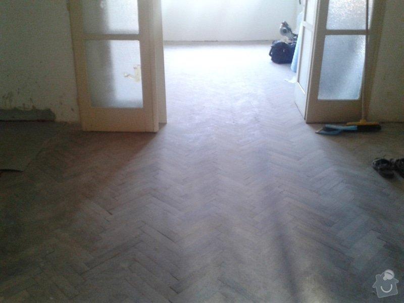 Pokládka plov.podlahy+dlažba: Pred_II
