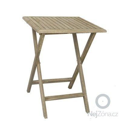 Skládací stolek - barový: navrh