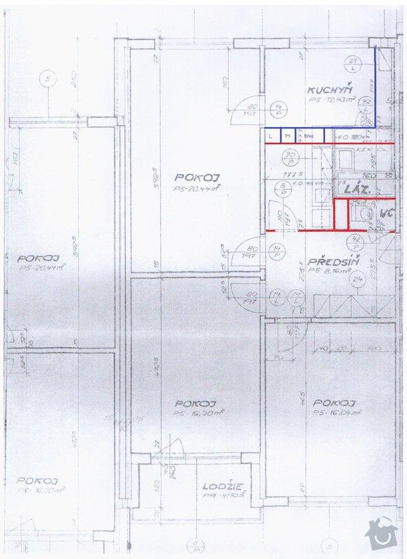 Rekonstrukce panelového bytu: zmena_dispozice