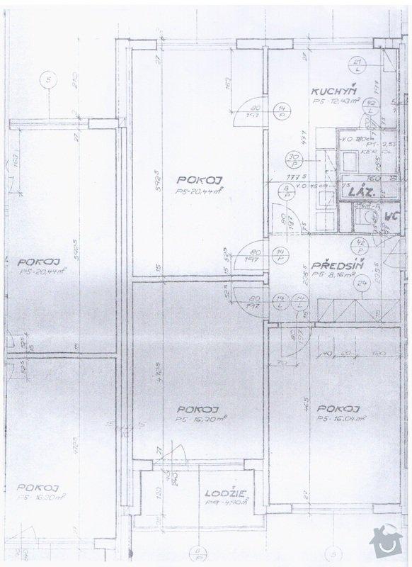 Rekonstrukce panelového bytu: puvodni_pudorys_2