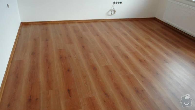 Pokládka vinylové podlahy DesignLine King Size - Čebín .: Foto1