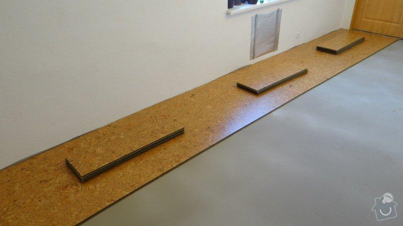Pokládka korkové podlahy CorkComfort Xtreme WRT ( Bystřice nad Pernštejnem ): DSC04468