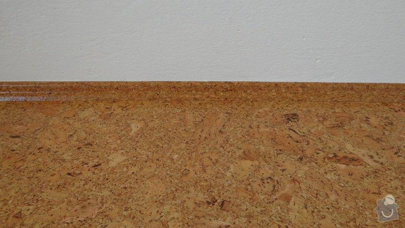 Pokládka korkové podlahy CorkComfort Xtreme WRT ( Bystřice nad Pernštejnem ): DSC04479