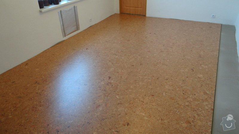 Pokládka korkové podlahy CorkComfort Xtreme WRT ( Bystřice nad Pernštejnem ): DSC04474