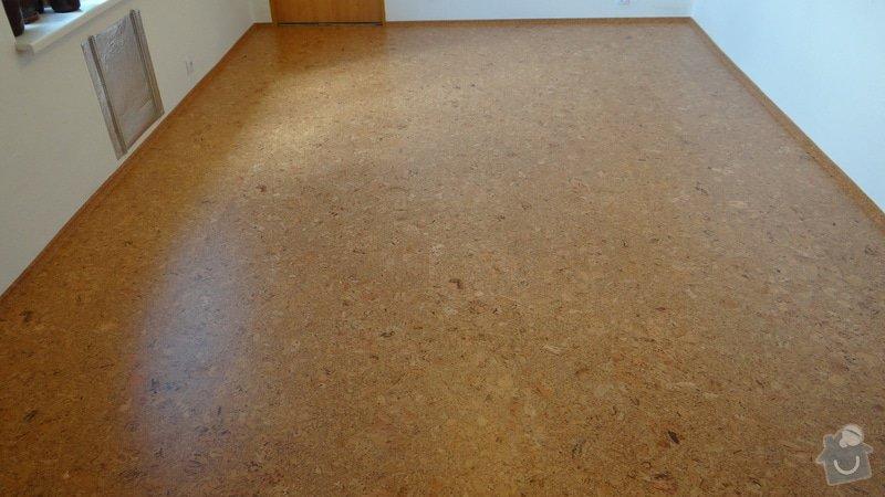 Pokládka korkové podlahy CorkComfort Xtreme WRT ( Bystřice nad Pernštejnem ): DSC04478