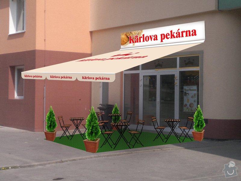 Výroba a instalace výsuvných markýz 3ks: Vltavska_markyza_nahled
