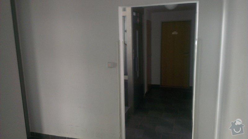 Malirske prace - vymalovani vchodu do domu: IMAG0782