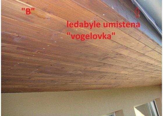Oprava podbiti strechy + ochrana proti ptakum