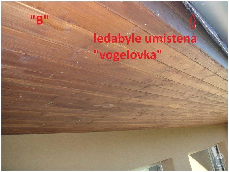 Oprava podbiti strechy + ochrana proti ptakum: podbyti001