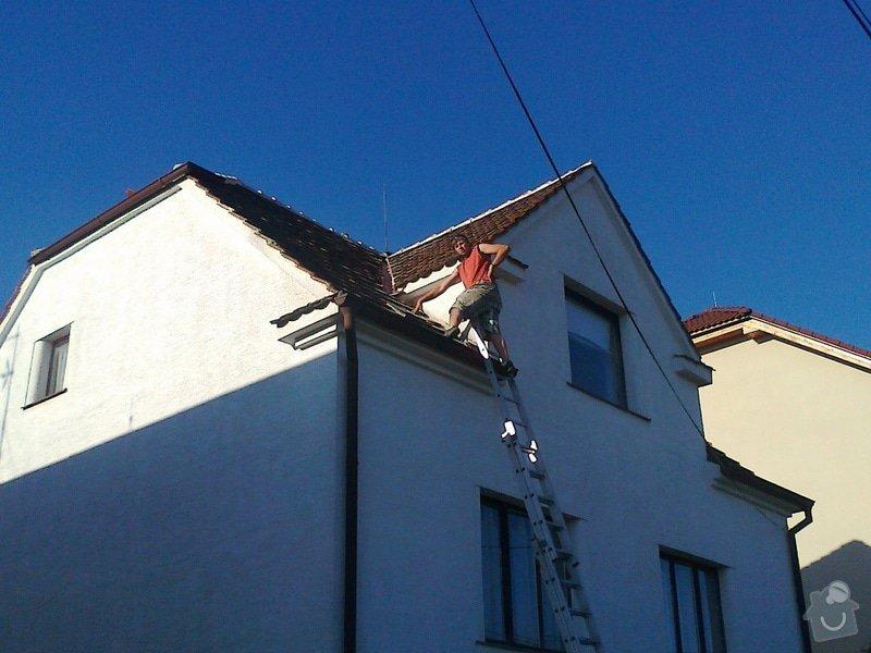 Pokrývačské práce - oprava střechy z pálených tašek: Fotografie0255