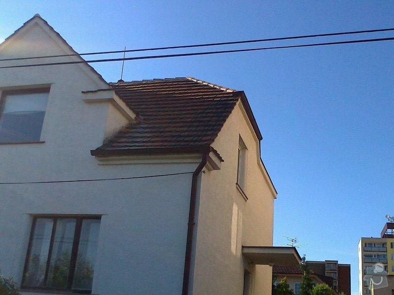 Pokrývačské práce - oprava střechy z pálených tašek: Fotografie0254