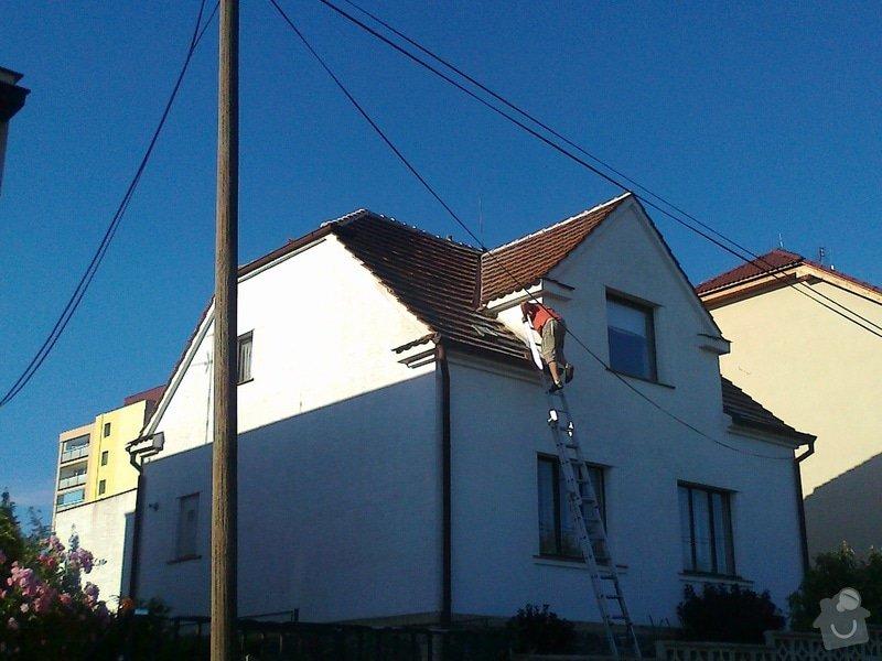 Pokrývačské práce - oprava střechy z pálených tašek: Fotografie0256