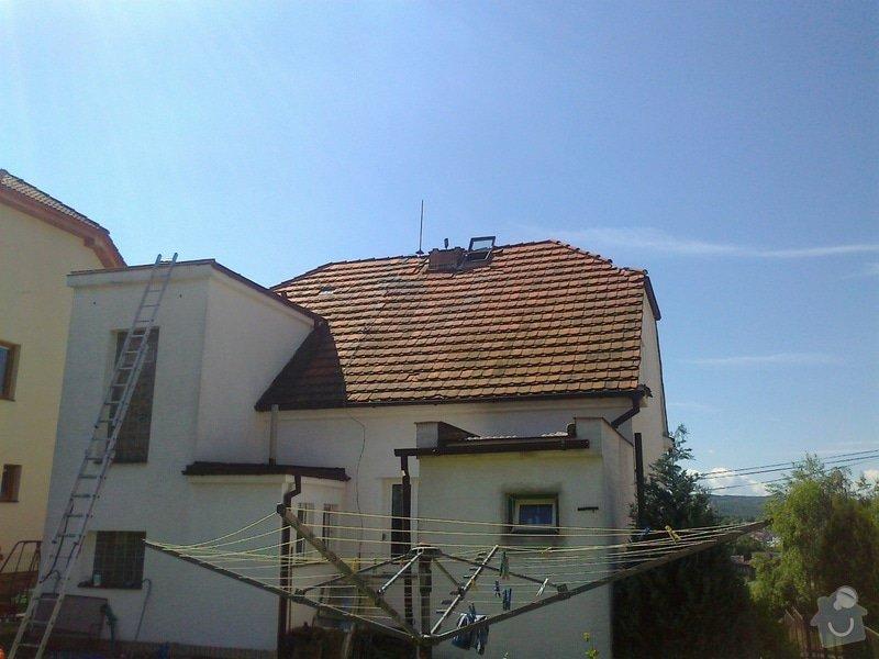Pokrývačské práce - oprava střechy z pálených tašek: Fotografie0247