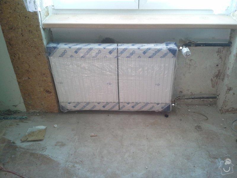 Výměna radiátorů 5ks: 20140606_180141