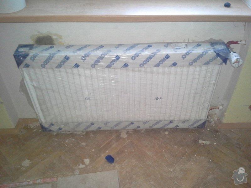 Výměna radiátorů 5ks: 20140606_180211