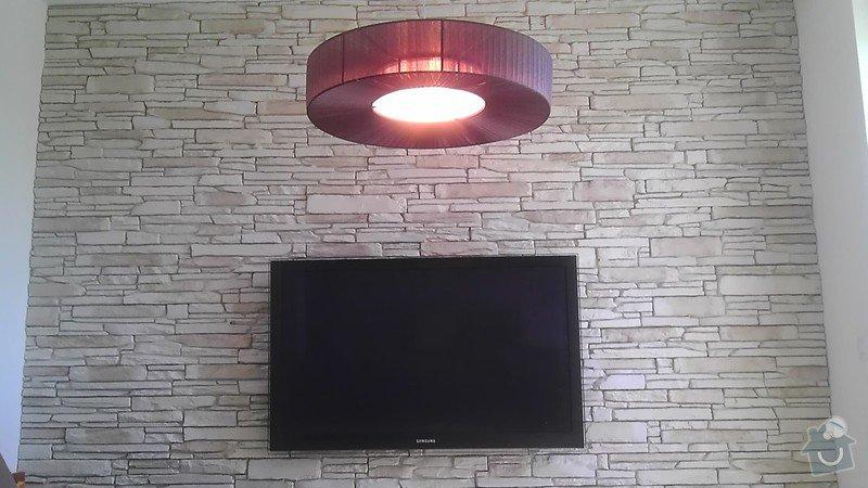 Drobné elektrikářské práce instalace 4 svítidel: IMAG4144