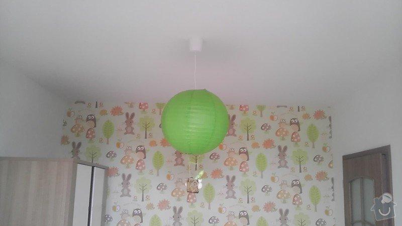 Drobné elektrikářské práce instalace 4 svítidel: IMAG4138
