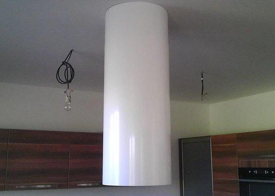 Drobné elektrikářské práce instalace 4 svítidel