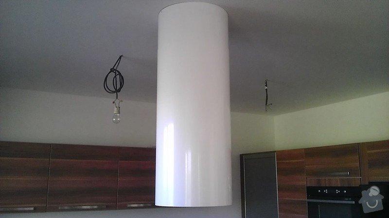 Drobné elektrikářské práce instalace 4 svítidel: IMAG4127