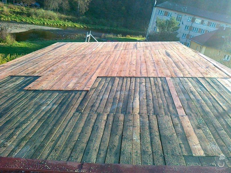 Rekonstrukce střechy: prace_099