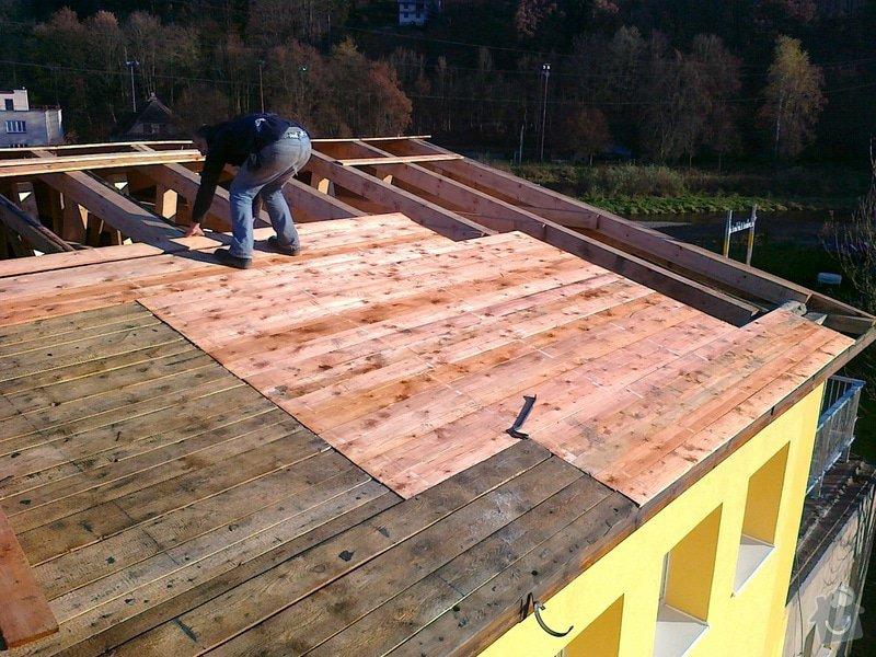 Rekonstrukce střechy: prace_101