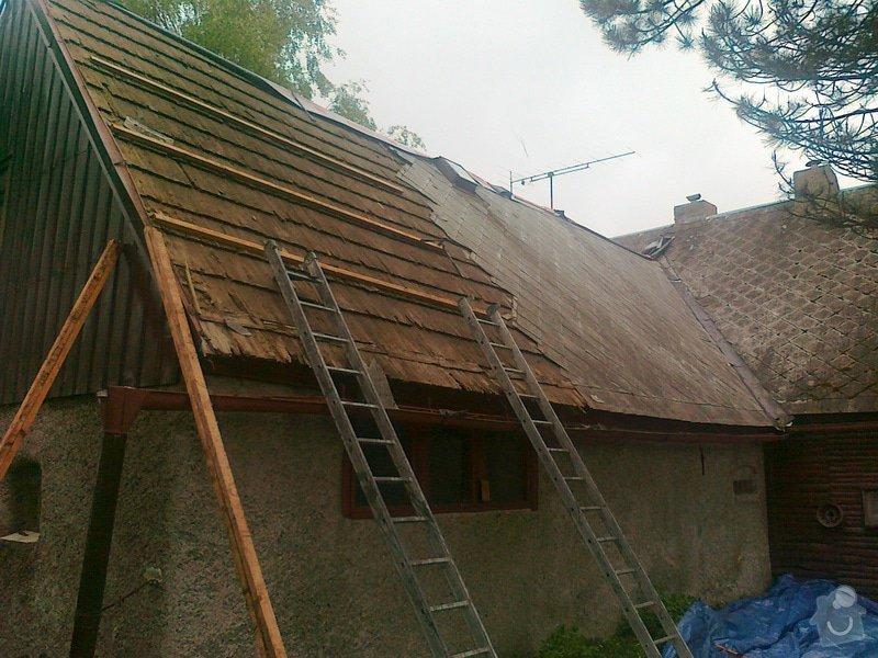 Rekonstrukce střešního pláště: prace_040