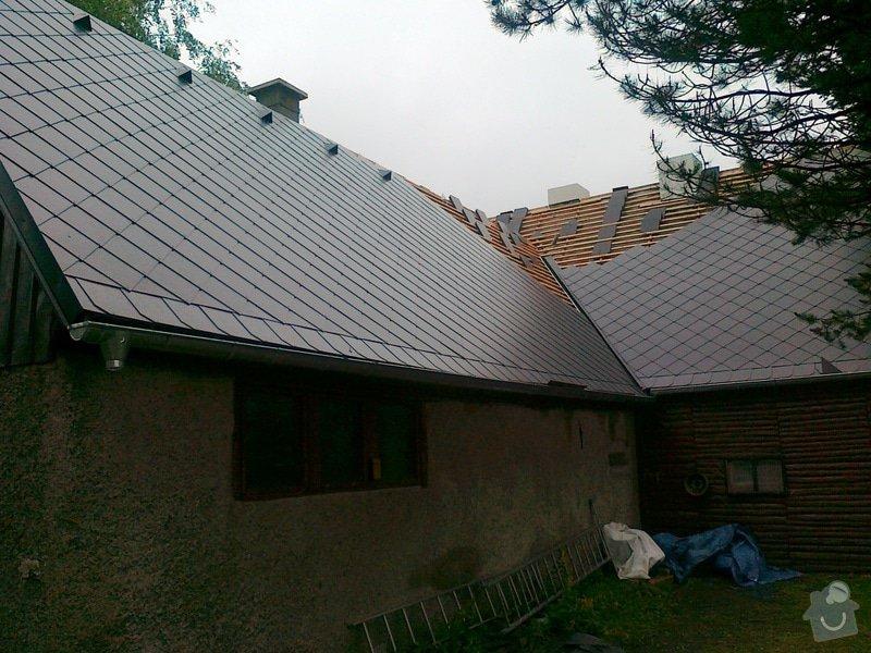 Rekonstrukce střešního pláště: prace_054