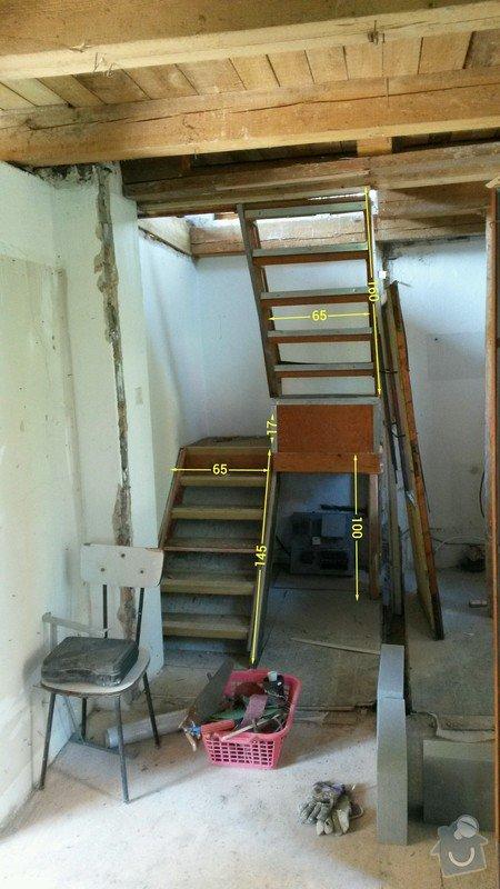 Dřevěné schody do podkroví: schodiste_toolbox