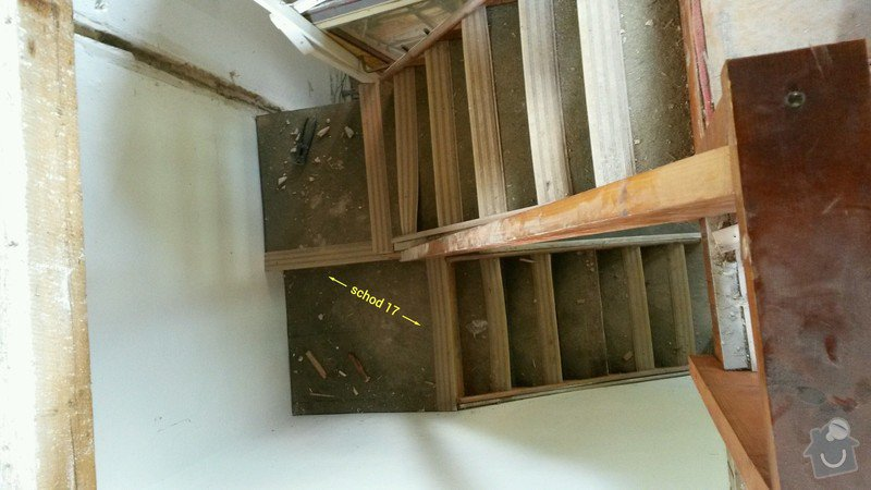 Dřevěné schody do podkroví: 20140601_105656_toolbox