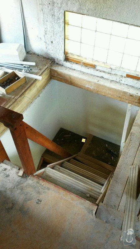 Dřevěné schody do podkroví: 20140601_105522_toolbox