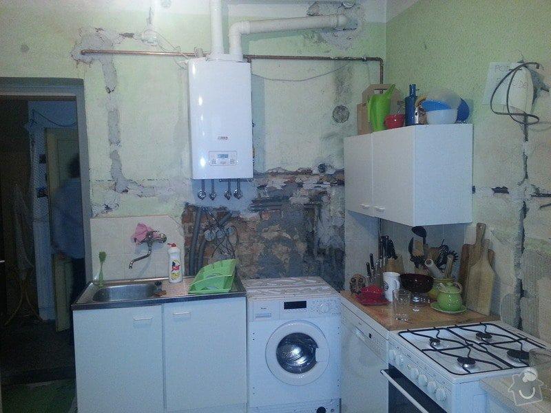Dokončení předpřipravených el. rozvodů v kuchyni: 20140206_080116