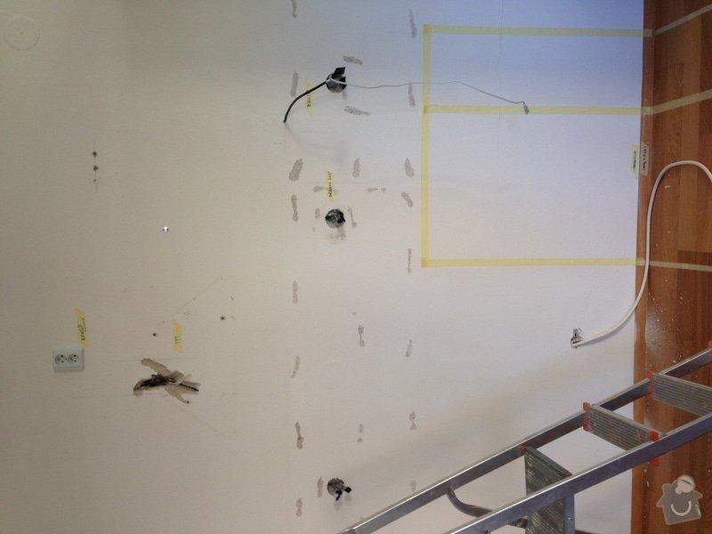 Oprava omitky po rozvodu elektriny (specha): photo