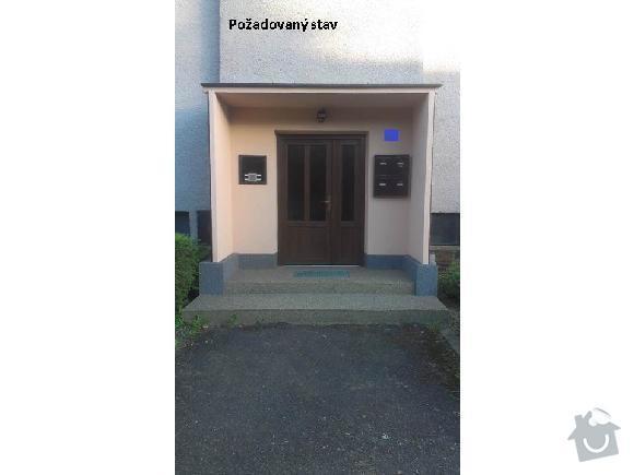 Rekonstrukce vchodu bytoveho domu: Vchod-pozadovany_stav