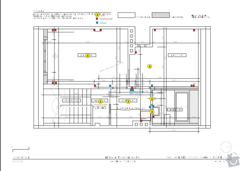 Rekonstrukce podkroví: elektroinstalace_nove