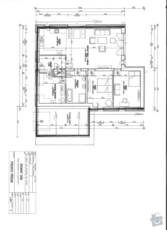 Plochou střechu cca 165m2 na klíč: mozartova_001_2_